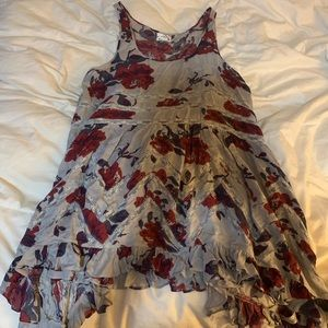 Free People Dresses - Free people floral trapeze dress